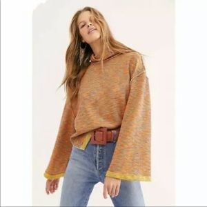 FREE PEOPLE NEW Stretch Turtleneck Sweater Small